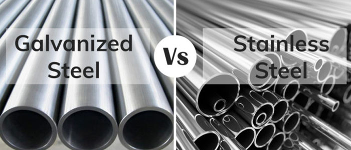 Galvanized Steel or Stainless Steel